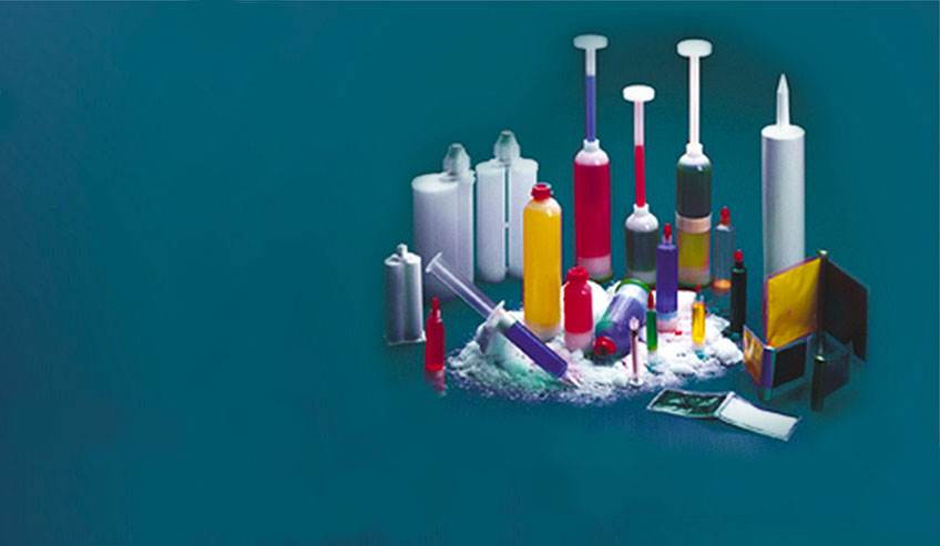 Specialty adhesives packaging
